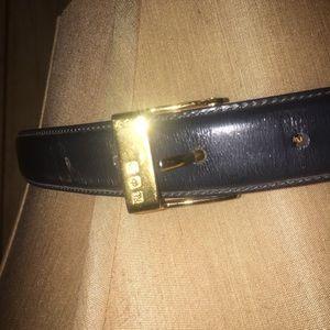 Authentic Ralph Lauren leather belt